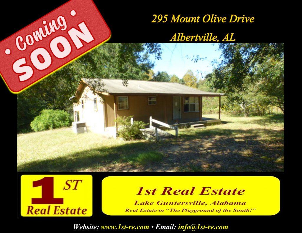 295 Mount Olive Dr - Albertville Foreclosure